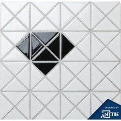 ANT TILE Glossy Porcelain Mosaic Tile Model 151394751 Kitchen Wall Tiles