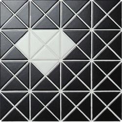 ANT TILE Black Matte Porcelain Mosaic Tile Model 151395721 Kitchen Wall Tiles