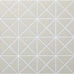 "ANT TILE 2"" Unglazed White Triangle Porcelain Mosaic Tile Model 151888561 Kitchen Wall Tiles"