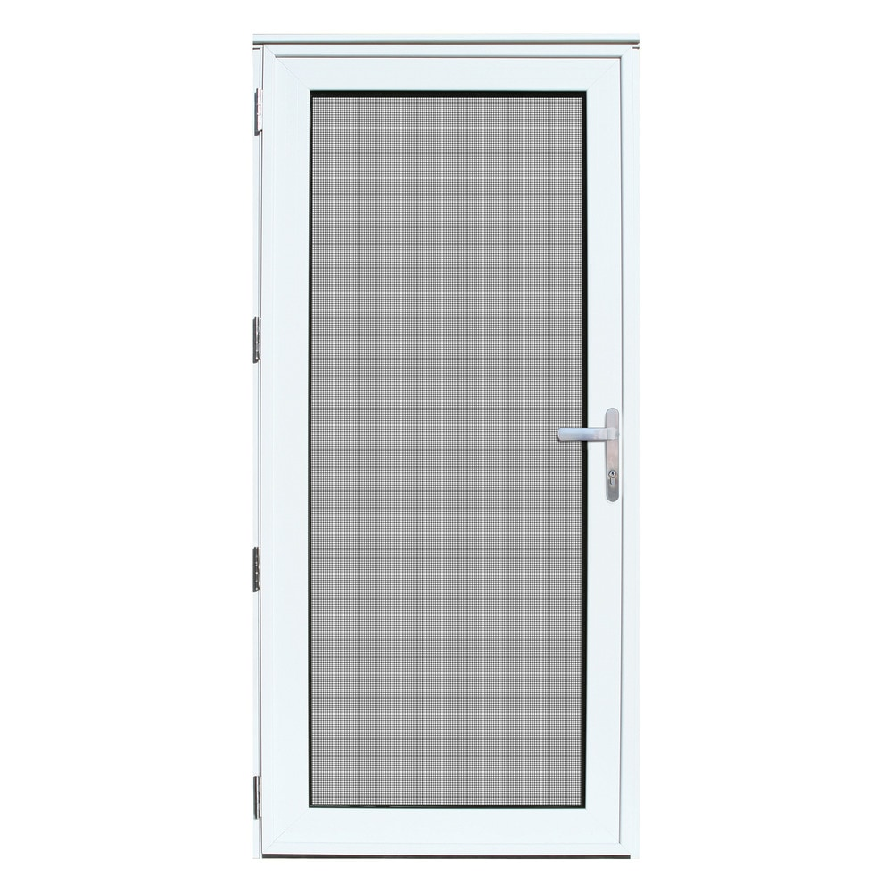 Security Storm Doors Product : Titan security doors recessed mount meshtec storm