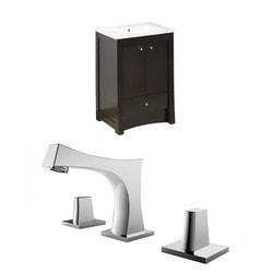 American Imaginations Elite Floor Mounted Vanity Set With 8 in o c AI 10758 Model 151262831 Bathroom Vanities