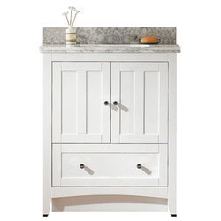 American Imaginations Shaker Floor Mounted Vanity Set With 4 in o c AI 17566 Type 151269911 Bathroom Vanities in Canada
