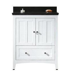 American Imaginations Shaker Floor Mounted Vanity Set With 8 in o c AI 17570 Model 151269951 Bathroom Vanities