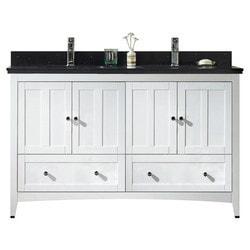 American Imaginations Shaker Floor Mounted Vanity Set With Single Hole AI 17712 Type 151271371 Bathroom Vanities in Canada
