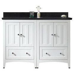 American Imaginations Shaker Floor Mounted Vanity Set With 8 in o c AI 17790 Model 151271911 Bathroom Vanities