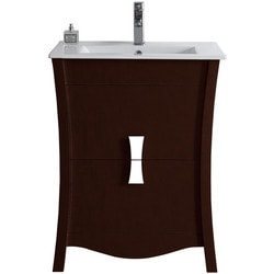 American Imaginations Bow Floor Mounted Vanity Set With Single Hole AI 18204 Type 151259981 Bathroom Vanities in Canada