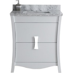 American Imaginations Bow Rectangular Floor Mounted Vanity Set With 4 in o c AI 18301 Type 151260911 Bathroom Vanities in Canada