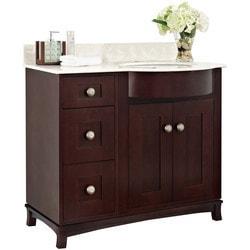American Imaginations Tiffany Floor Mounted Vanity Set With Single Hole AI 18408 Model 151272731 Bathroom Vanities