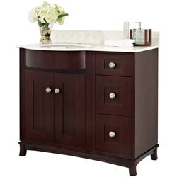 American Imaginations Tiffany Floor Mounted Vanity Set With Single Hole AI 18434 Type 151272991 Bathroom Vanities in Canada