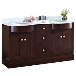 American Imaginations Tiffany Floor Mounted Vanity Set With 4 in o c AI 18488 Model 151273531 Bathroom Vanities