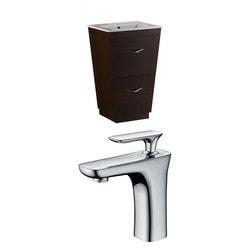 American Imaginations Vee Rectangular Floor Mounted Vanity Set With Single Hole AI 9039 Type 151198821 Bathroom Vanities in Canada