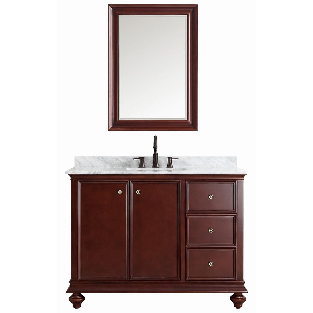 Vinnova vinnova bathroom vanities venice collection 48 for Bathroom vanity sets