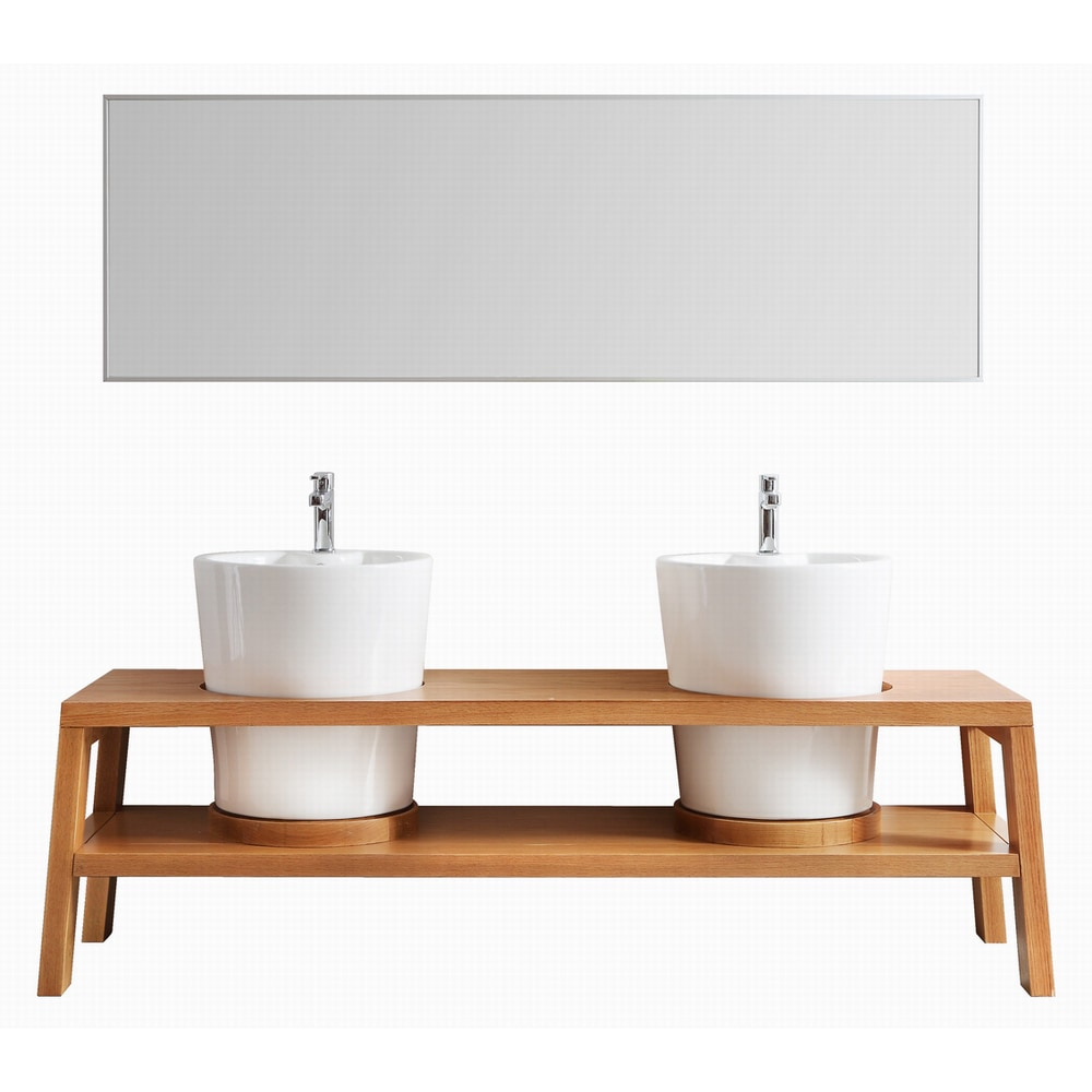 bathroom vanities lecce collection 78 inches vanity sets red oak