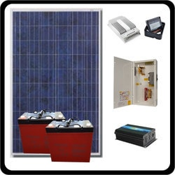 Prodesign Offgrid Kit Invert It 265W/12V Model 151359991 Clean Energy Off-Grid Cabin Systems