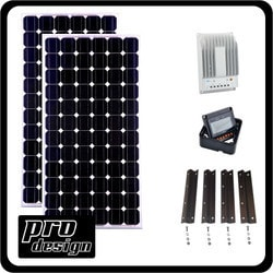 Prodesign 330 Watt MPPT Solar Kit Model 151396411 Clean Energy Off-Grid Cabin Systems