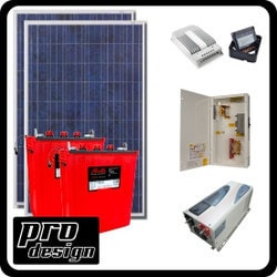Prodesign Offgrid Kit Tracer 530W/12V Model 151359981 Clean Energy Off-Grid Cabin Systems