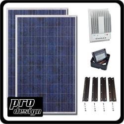 Prodesign 520 Watt MPPT Solar Kit Model 151396471 Clean Energy Off-Grid Cabin Systems