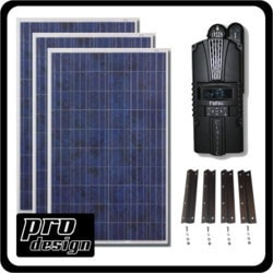 Prodesign 780 Watt MPPT Solar Kit Model 151396461 Clean Energy Off-Grid Cabin Systems