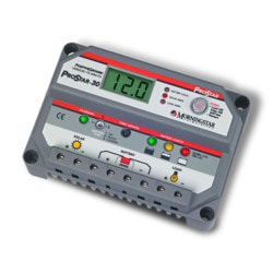 MorningStar ProStar 30A 12 24V PWM Controller with Meter Positive Ground Model 151396091 Clean Energy System Meters