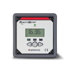 MorningStar Remote Meter RM 1 CN (works with SunSavers) Model 151396061 Clean Energy System Meters