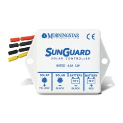MorningStar Sunguard 4 amp 12v Model 151388071 Clean Energy Controllers