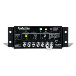 MorningStar SunSaver 6A 12V Model 151388251 Clean Energy Controllers