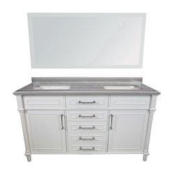 LUXE by Deluxe Vanity Continental Full Set Model 151421481 Bathroom Vanities