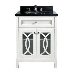 LUXE by Deluxe Vanity Grazia Cabinet & Countertop Type 151419121 Bathroom Vanities in Canada