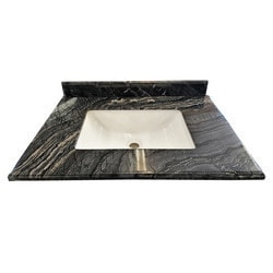 LUXE by Deluxe Vanity Mediterraneo Countertop Model 151417371 Bathroom Vanities