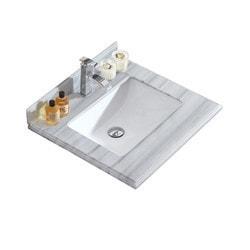LUXE by Deluxe Vanity Odyssey Countertop Model 151417421 Bathroom Vanities