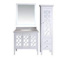 LUXE by Deluxe Vanity Mediterraneo Full Set Model 151422011 Bathroom Vanities