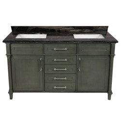 LUXE by Deluxe Vanity Continental Cabinet & Countertop Model 151418921 Bathroom Vanities