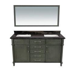 LUXE by Deluxe Vanity Continental Full Set Model 151421501 Bathroom Vanities