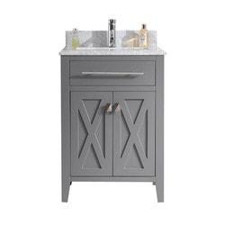 LUXE by Deluxe Vanity Wimbledon Cabinet & Countertop Type 151419981 Bathroom Vanities in Canada