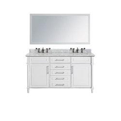 LUXE by Deluxe Vanity Continental Full Set Model 151421751 Bathroom Vanities
