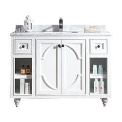 LUXE by Deluxe Vanity Odyssey Cabinet & Countertop Type 151419751 Bathroom Vanities in Canada
