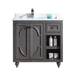 LUXE by Deluxe Vanity Odyssey Cabinet Model 151418631 Bathroom Vanities