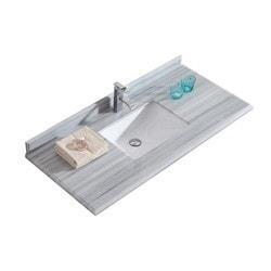 LUXE by Deluxe Vanity Odyssey Cabinet & Countertop Model 151419871 Bathroom Vanities