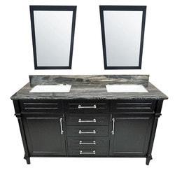 LUXE by Deluxe Vanity Continental Full Set Model 151421591 Bathroom Vanities