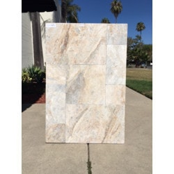Ayyildiz Marble Talathello Valencia Marble Paver Model 151501521 Outdoor Pavers