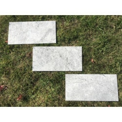 "Ayyildiz Marble Silver Galaxy 12'x24"" Model 151724441 Marble Flooring Tiles"