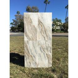 "Ayyildiz Marble Silver Pearl 12'x24"" Model 151715371 Marble Flooring Tiles"