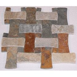 Carved Stone Creations Inc Slate Mosaic Model 151614401 Kitchen Stone Mosaics