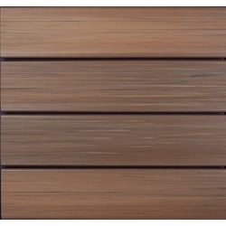 Duralife decking capped composite decking tropical walnut for Capped composite decking prices