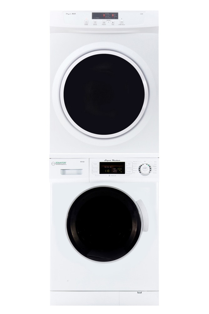 Equator Eco Appliances Stackable Set Of Super Washer And