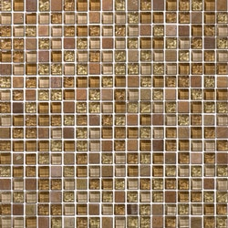 Tiles & Deco BROWN TERRACOTA BLEND TERRACOTA MOSAIC Model 151363131 Kitchen Glass Mosaics