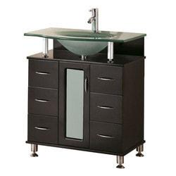 "Design Element Huntington 30"" Single Sink Vanity Set Model 151724061 Bathroom Vanities"