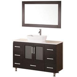 """Design Element Stanton 48"""" Single Sink Vanity Set Model 151722801 Bathroom Vanities"""