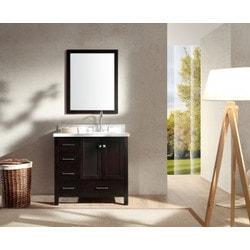 """ATLAS ARIEL Cambridge 37"""" Single Sink Vanity Set Model 151724501 Bathroom Vanities"""
