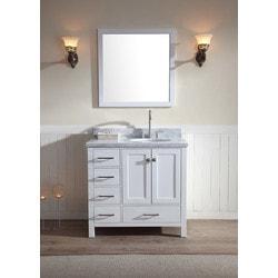 """ATLAS ARIEL Cambridge 37"""" Single Sink Vanity Set Model 151724521 Bathroom Vanities"""